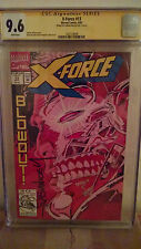X-Force #13 CGC 9.6 AUTOGRAPHED by FABIAN NICIEZA