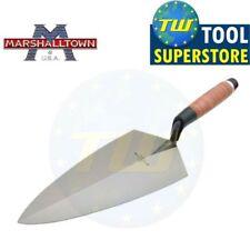 Marshalltown 19l Philadelphia Pattern Brick Trowel Leather Handle 12in