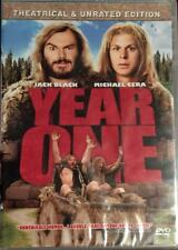 Year One (DVD, 2009, R2) Theatrical & Unrated Edition BRAND NEW & SEALED