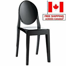 Ghost Side Chair without Arms - Philippe Starck Louis XVI  Design (Set of 1)