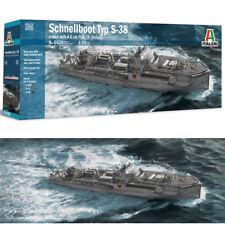 Italeri 5620 1/35 WWII German Schnellboot Typ S-38 Torpedo Boat Kit