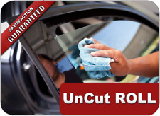 "35% VLT Black Car Window Tint Film Dyed 24"" x 20' (60cm x 6 m) UV Protection"