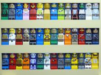LEGO MICRO FIGURES 10 x Random mixed theme Figures STAR WARS GAMES Harry Potter