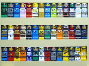 LEGO MICRO FIGURES 10 x Random mixed theme Figures STAR WARS GAMES Harry Potter