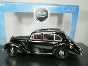 OXFORD DIECAST, 1:43 Scale, ARMSTRONG SIDDELEY LANCASTER in BLACK, ASL001