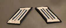 WW2 German Army Uniform Medical Officer Military Doctor Collar Tabs