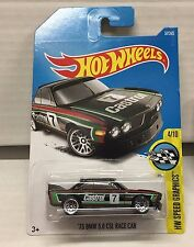 '73 BMW 3.0 CSL Race Car #57 * BLACK * 2017 Hot Wheels * NE19