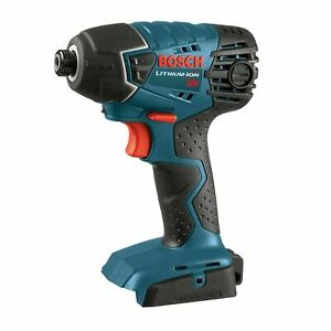 Bosch 25618B 18V Li-Ion 1/4 in. Hex Impact Driver, Tool Only, Open Box