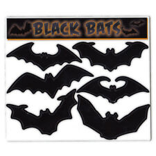 Magnet Variety Pack (6 Magnets) - Black Bats (Halloween) - Refrigerators, Cars