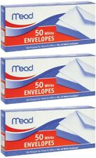 Mead Business Envelope Size #10 - 3 Packs of 50 = 150 Count