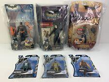 Lot Of 6 - Batman Begins Dark Knight Action Figures Scarecrow, Joker, Bane Nib