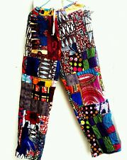 Mens trousers pants casual hippie african print M for men women ships from USA