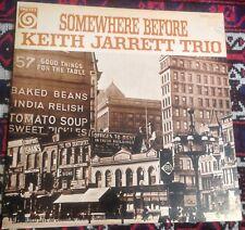 KEITH JARRETT TRIO somewhere before 1976 JAPAN VORTEX REISSUE VINYL LP + INSERT