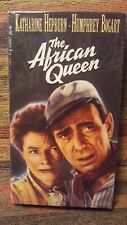 The African Queen (1951) Vhs Movie - Bogart, Hepburn - Brand New Sealed