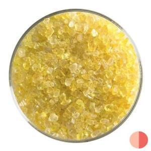 Bullseye Glass Coarse Frit Yellow Transparent 90 COE