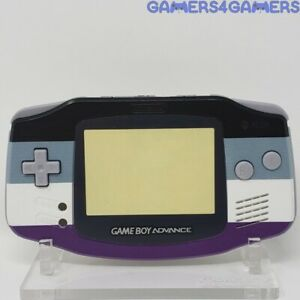 Asexual Pride GBA complete handheld housing shell Game boy backlit ips advance