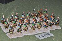 25mm biblical / assyrian - spearmen 24 figures - inf (12248)