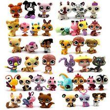 Random Pick Different Lot 5 Pcs Littlest pet shop Dolls Children LPS figure Toy