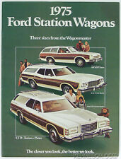 Ford 1975 Station Wagons LTD Torino Pinto Wagonmaster Sales Brochure