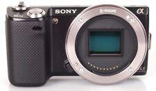 Sony Alpha NEX-5N 16.1MP Digital Camera - Black (Body, SD card, Charger & Strap)