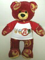 Build A Bear IRON MAN Plush Teddy 1st Edition Sound Box Uptown Funk