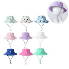 Toddler Kids Summer Sun Hat Baby Outdoor Beach Sunscreen Protection Bucket Cap