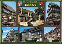 Alte Postkarte - Bier- und Hansestadt Einbeck