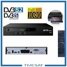 full HD Démodulateur satellite decodeur compatible carte TIVUSAT
