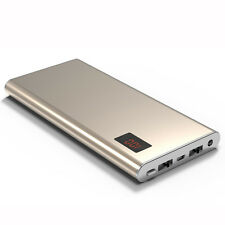 50000mah Power Bank LCD 2 USB LED Ladegerät Backup Pack Für iPhone Für Android