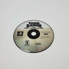 Tomb Raider Last Revelation ORIGINAL Black (Sony Playstation 1 ps1) Disc Only