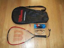 """Wilson Fire XT Titanium 22"""" Racquetball Racket Set - XS 3 7/8"""""""