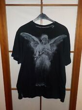 LRG vintage Wet t-shirt Contest té Angel Dust dark gothic emo negro XXL 2xl