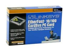 Linksys PCMCIA 10/100 Fast Ethernet LAN CardBus PC Card PCMPC200 Kit in Box