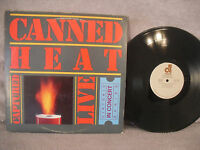 Canned Heat, Captured Live, Accord Records SN 7144, 1981, Blues Rock