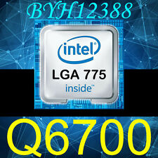 Intel Core 2 Quad Q6700 2.66 GHz 4-Core 8M 1066 Processor LGA775 Upgrade CPU