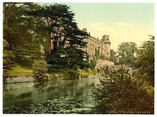 3 Victorian Views Pictures of Warwick Castle Vintage Antique Old Photo Print NEW
