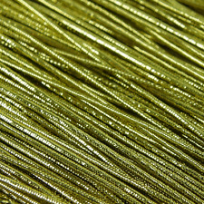 4.5M x GOLD STRETCH Card Craft Gift Cord - String approx 1mm  gift tag thread