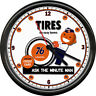 Minute Man Tire Store Union 76 Gas Station Pump Oil Dealer Retro Sign Wall Clock