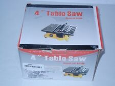 "TRUE POWER 01-0819 MINI 4""INCH ELECTRIC TABLE SAW"