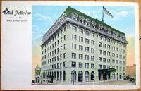 1924 San Francisco, CA Postcard: Hotel Bellevue - California