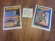 Raleigh Burner BMX Brochure 1 & 2 Reproduction and DVD - Old School Pro Burner