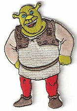 """Shrek Character Embroidered Sewn/Iron Patch 3 1/2"""" Tall"""