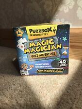 Puzzbox Dr. BrainBuster's Magic Magician Quiz Adventure 40 pcs puzzle (Ages 8+)