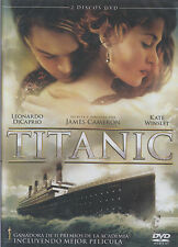 DVD - Titanic NEW Leonardo Dicaprio Kate Winslet 2 Disc Set FAST SHIPPING !