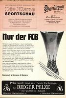 UEFA - EC III 88/89 FC Bayern München - Inter Mailand, 23.11.1988, Die Blaue