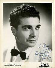 Vintage JACK FINA Signed Photo