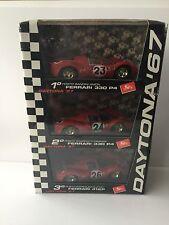 Ferrari 330 P4 412P Daytona '67 set of 3 1:43 Brumm Limited Edition NEW in Box