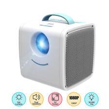 Mini Pocket Projector LED Home Theater Cinema 1080P Full HD USB/HDMI/TF/AV RB