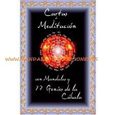 Oracle Tarot 72 Cartes Méditation Genii Forme Kabala Où Espagnol Mandala