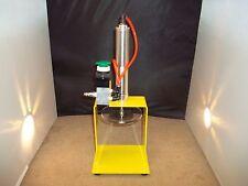 Pneumatic Air Cylinder Lemonade Juicer Commercial Lemon Lime Squeezer Press